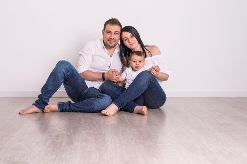 abbigliamento per servizi fotografici di famiglia