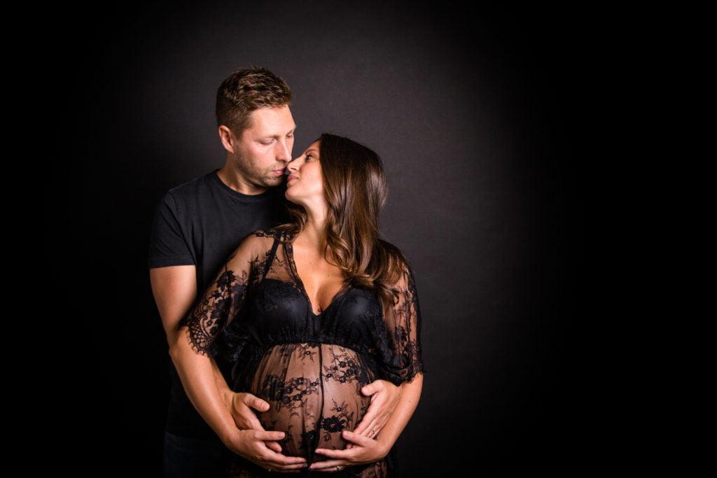 annunciare gravidanza ai parenti con servizio fotografico