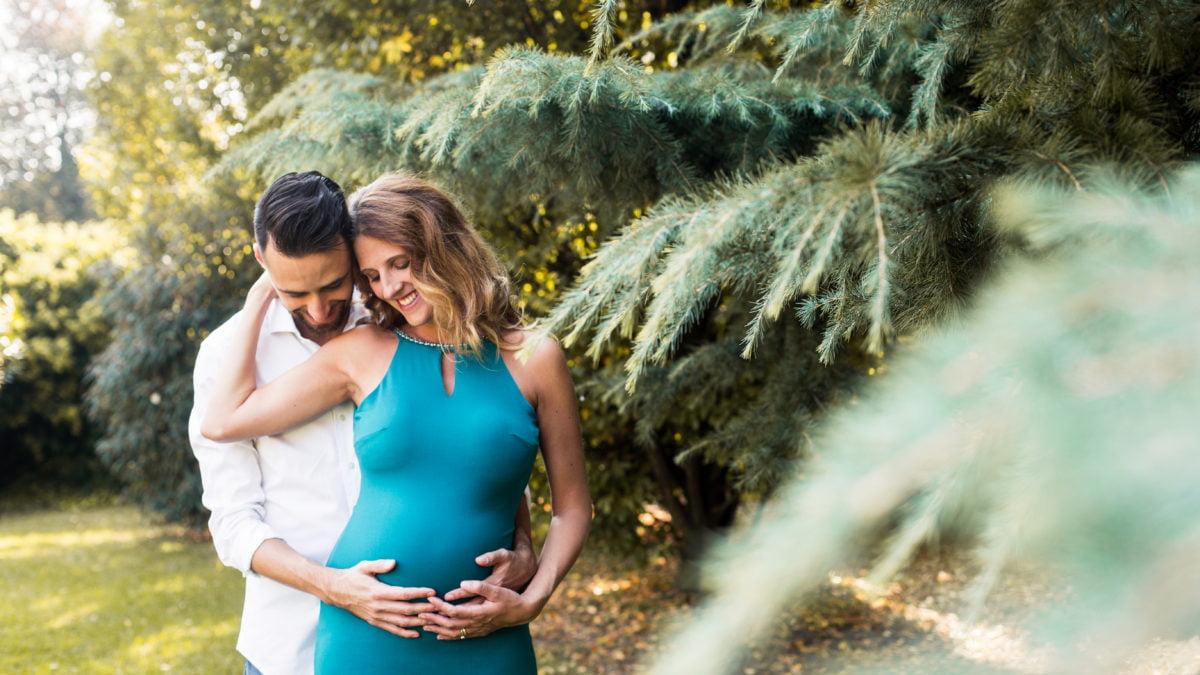 chiara e marco servizio gravidanza