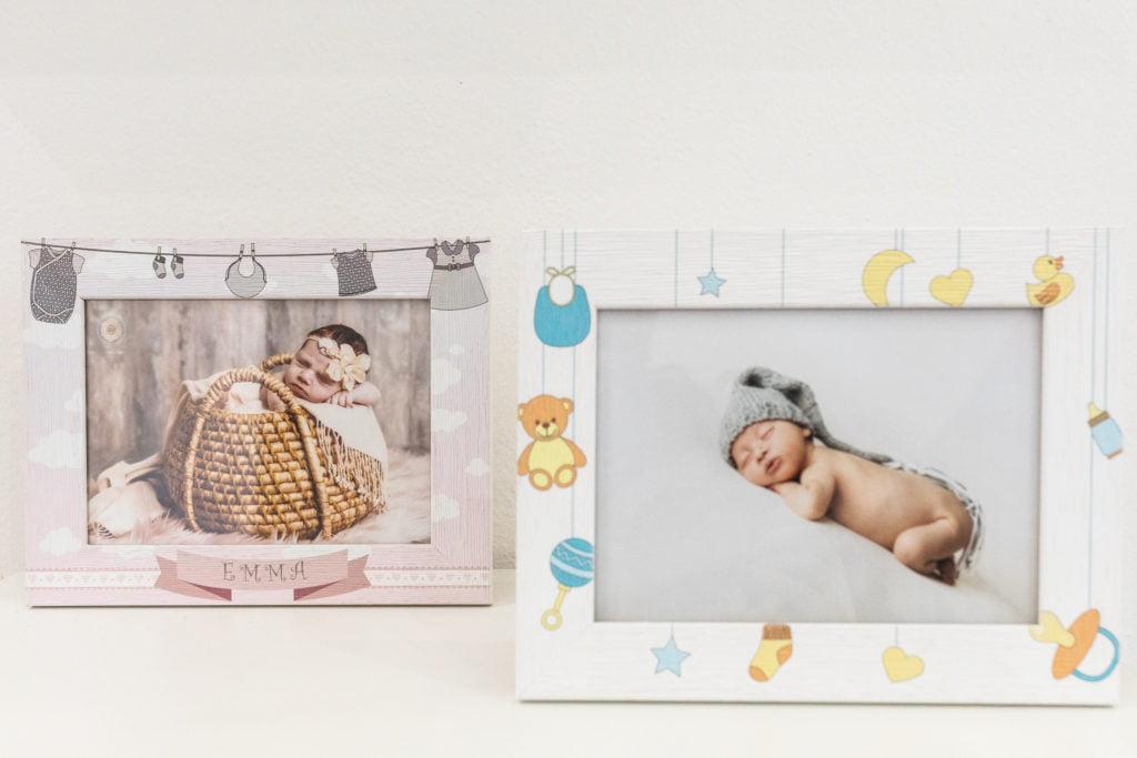 stampe foto neonati incorniciate