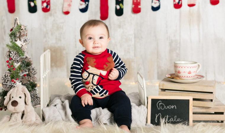 Come Fare Auguri Di Natale.Auguri Originali Con Le Foto Di Natale Dei Bambini