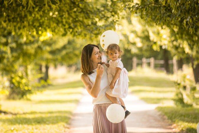 Foto estate mini sessione famiglia