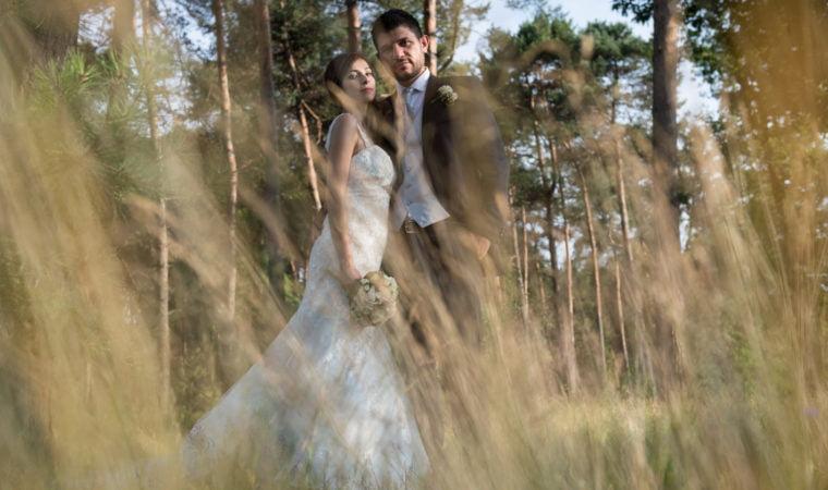 Foto matrimonio nella natura