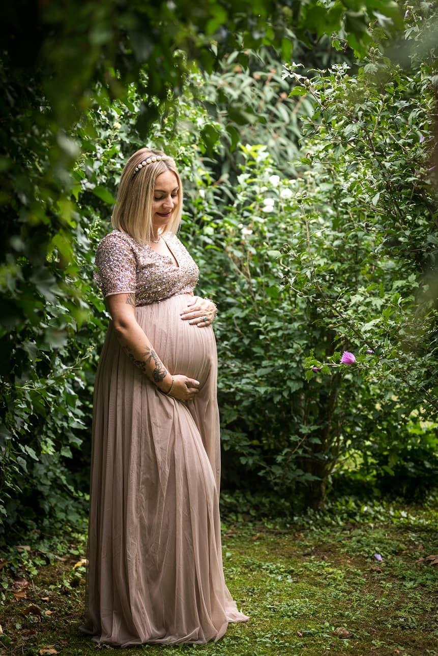 Set fotografico esterno maternità