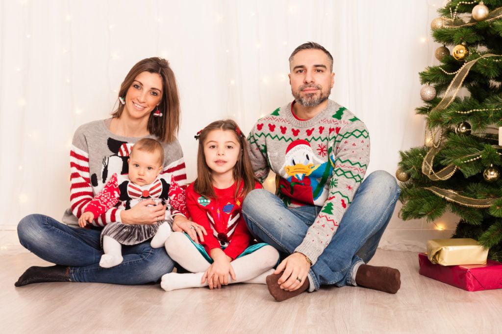 foto natalizie family giulia ivan