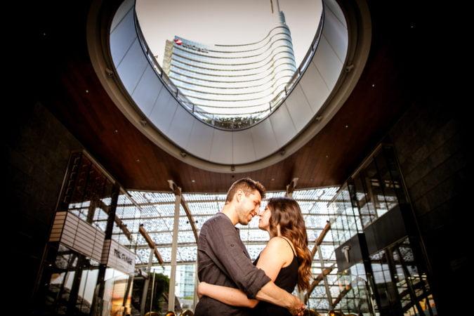 foto di coppia milano stefania e luca