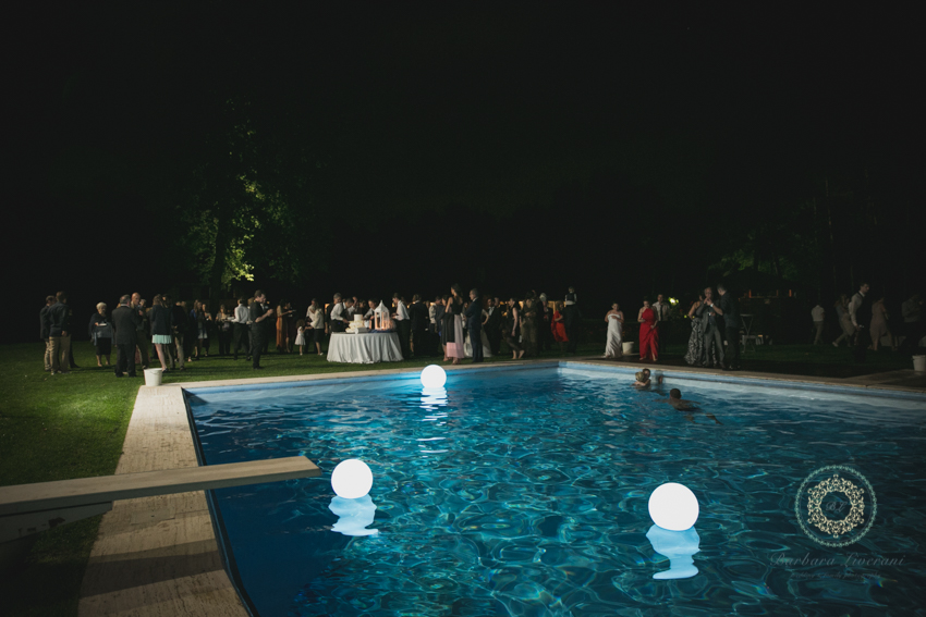 villa giuliana golasecca piscina